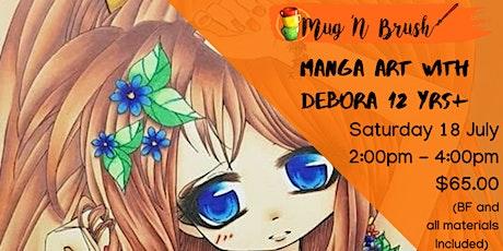 Manga Art with Debora tickets