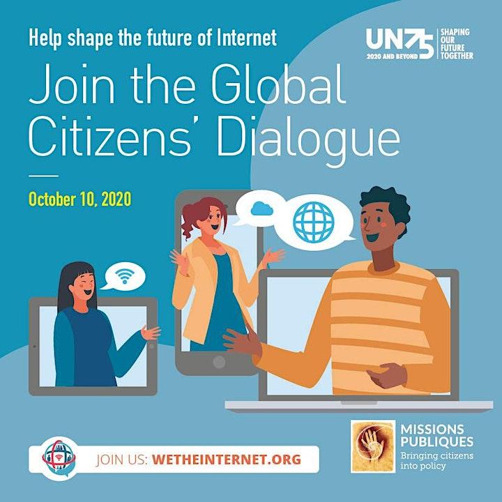Image pour We the Internet - Dialogue Citoyen sur l'avenir de l'Internet
