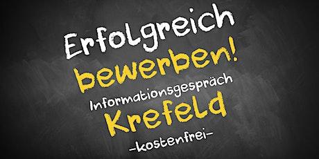 Bewerbungscoaching Informationsgespräch Online - AVGS  Krefeld Tickets