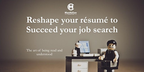 Reshape your resume to succeed your job search tickets