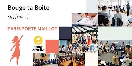 Lancement de Bouge ta Boite à Paris-Porte Maillot billets