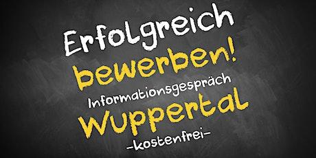 Bewerbungscoaching Online kostenfrei - Infos - AVGS Wuppertal Tickets