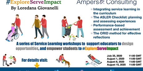 Developing an authentic Service-Learning system workshop series tickets