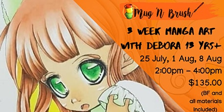 3 Weeks Manga Art with Debora tickets
