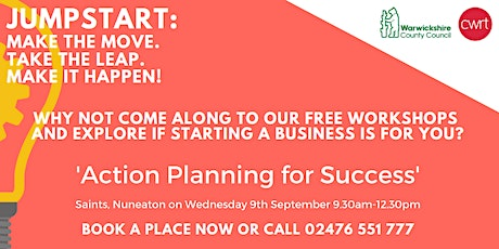 FREE Action Planning for Success Workshop tickets