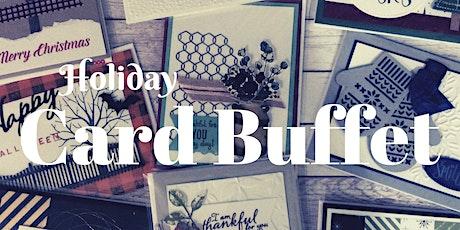 Holiday Card Buffet tickets