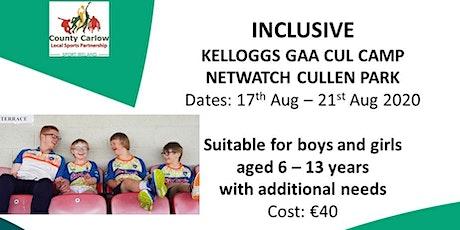 Inclusive Cul Camp - Short Day 10am-12pm tickets