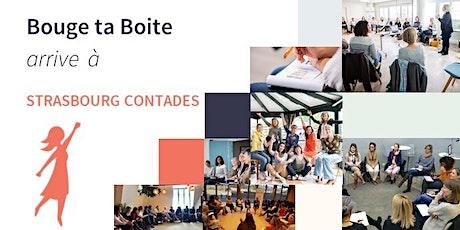 Lancement de Bouge ta Boite à Strasbourg Contades billets