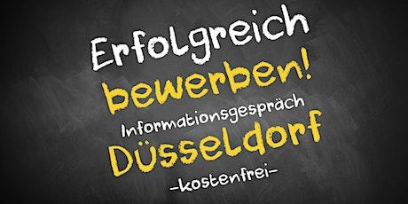 Bewerbungscoaching Online kostenfrei - Infos - AVGS  Düsseldorf Tickets