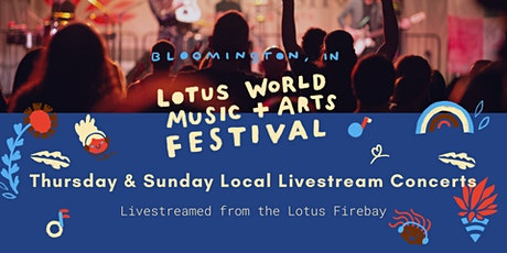 Lotus Fest Thursday & Sunday Local Livestream from the Firebay biglietti