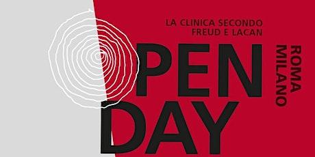 Open day Istituto freudiano - ottobre 2020 biglietti