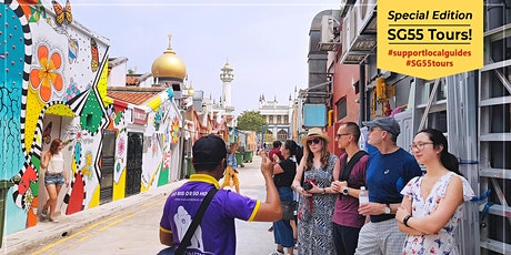 'Royalty Meets Trendy' Kampong Glam Walk - #SG55 Special Tour Edition