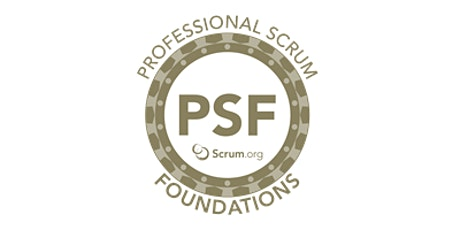 Professional Scrum Foundations - Setembro tickets
