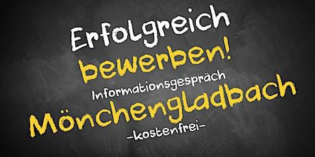 Bewerbungscoaching Informationsgespräch Online - AVGS Mönchengladbach Tickets