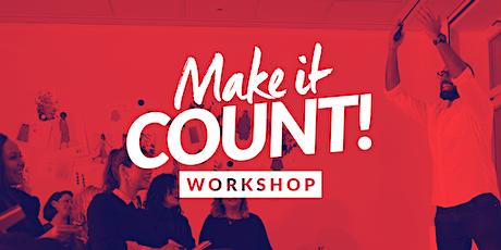 Make It Count! Online Workshop / 03. & 04. Oktober 2020 Tickets