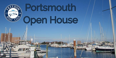 Freedom Boat Club - Portsmouth Open House! tickets