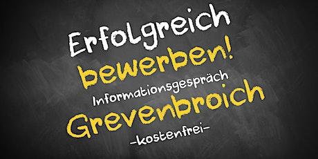 Bewerbungscoaching Online kostenfrei - Infos - AVGS Grevenbroich Tickets