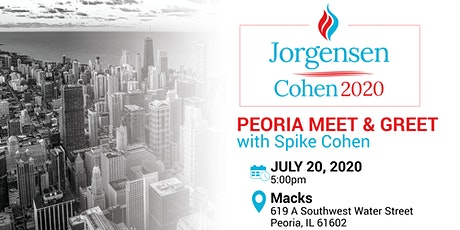 Meet and Greet with Spike Cohen, Peoria Illinois tickets