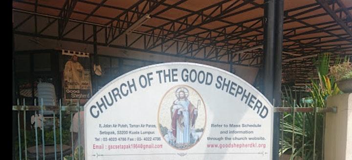 Good Shepherd Catholic Church  English Mass Registration- Scroll Down  pls image