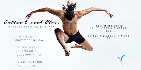 Limitless Movement - Online Dance & Movement Classes tickets