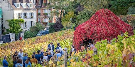 Visite de la vigne du Clos Montmartre billets