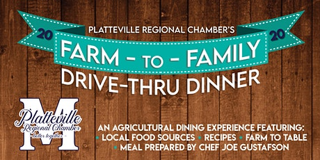Farm to Family Drive-thru Dinner tickets