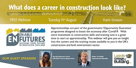 What does a career in construction look like? tickets