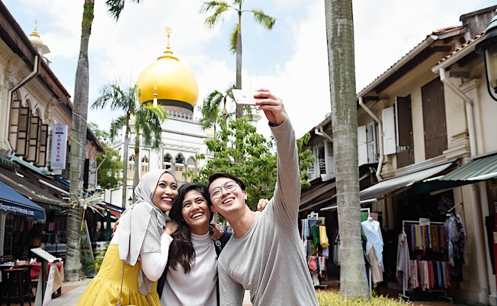 'Royalty Meets Trendy' Kampong Glam Walk - #SG55 Special Tour Edition image