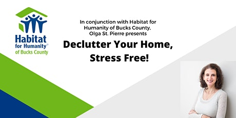 Virtual Webinar, How to Declutter your Home Stress Free! tickets