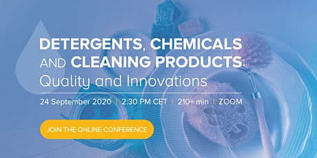 Detergents, Chemicals & Cleaning Products: Quality and Innovations tickets