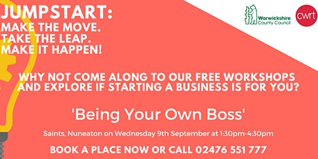 FREE Exploring Being Your Own Boss Workshop tickets