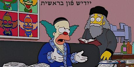 Yiddish fun bereshis: Yiddish Alphabet Class! tickets