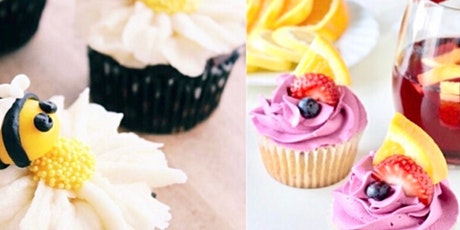 Saturday  Cupcake Decorating Class For Kids!  Pastry Chef McKenna Reyes tickets