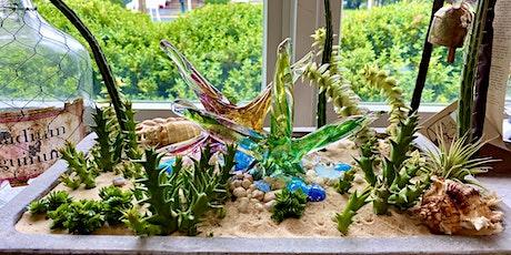 Design an Indoor Houseplant arrangement tickets