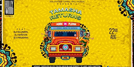 Bollywood Tamasha Returns tickets