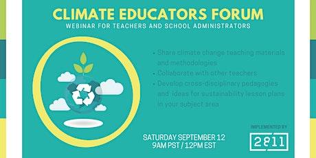 Climate Educators Forum tickets