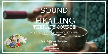 Sound Healing Therapy Level 1 (20 hours) - 2 full days + 1 half day tickets