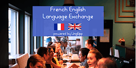 Free taster event| Learning French & English conversation exchange | 30 min tickets