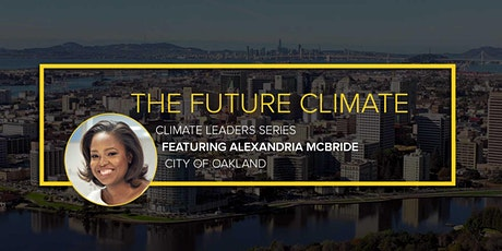 The Future Climate: Conversation with Climate Leader Alexandria McBride entradas