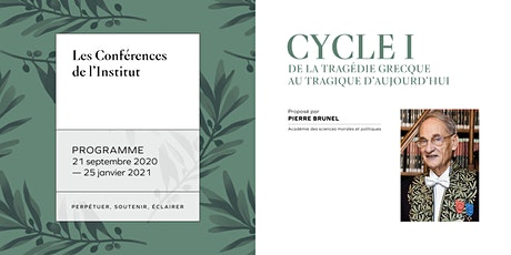 Conférences de l'Institut de France 2020 tickets