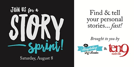 Story Sprint: Find & Develop Your Unique Personal Stories...Fast tickets