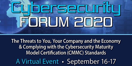 Cybersecurity Forum 2020 tickets