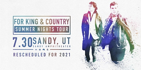 for KING & COUNTRY | A Summer Tour boletos