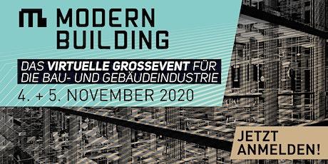 MODERN BUILDING - TGA-Konferenz Tickets
