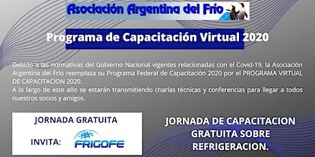 Jornada de Capacitación del Programa Virtual 2020 entradas