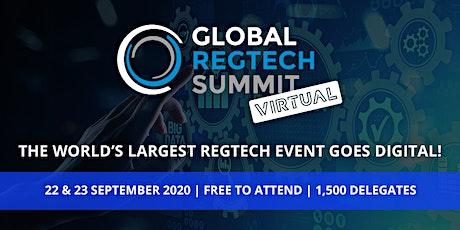 Global RegTech Summit - Virtual tickets