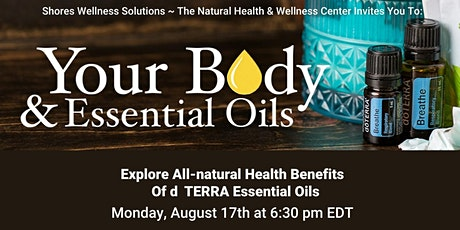 Your Body & Essential Oils: IN-PERSON & LIVE ON FB tickets