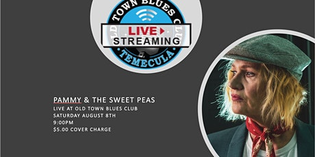 Pammy & The Sweet Peas. Live at OTBC. 9:PM $5 Cover tickets