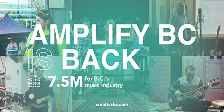 Amplify BC Info Session: Music Company at 12 PM | Online tickets