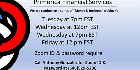 Money & Business tickets
